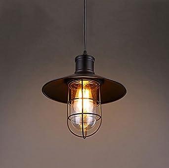 XSPWXN Kronleuchter Industrielle Vintage Loft Bar Küche Insel Edison Metall Kronleuchter  Hängende Pendelleuchte Deckenleuchte Leuchte Mit