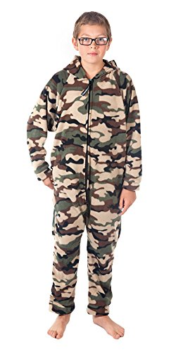 Forever Lazy Kids Onesie - Green Comatose Camo - L ()