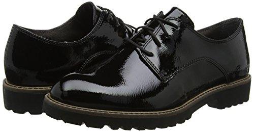 Women''s 23214 Oxfords black Patent Black Tamaris ZHwnd54q