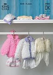 18bd6cfc4f73 Patons Baby s Loopy Jacket and Loopy Hat Knitting Pattern  To fit ...