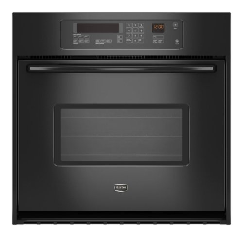 Maytag MEW7530WDB 30 Single Electric Wall Oven - Black