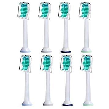 8 uds (2x4) de cabezales de recambio para cepillos de dientes E-Cron