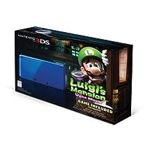Cobalt Blue Nintendo 3DS System With Luigi's Mansion: Dark Moon Bundle