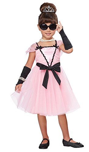 Child Movie Star Halloween Costume (California Costumes Movie Star Costume, One Color,)