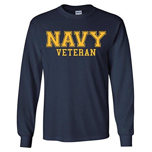 Where to find navy veteran shirt long sleeve?