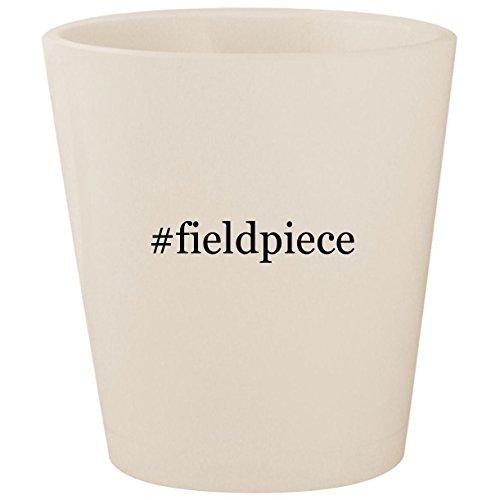#fieldpiece - White Hashtag Ceramic 1.5oz Shot Glass