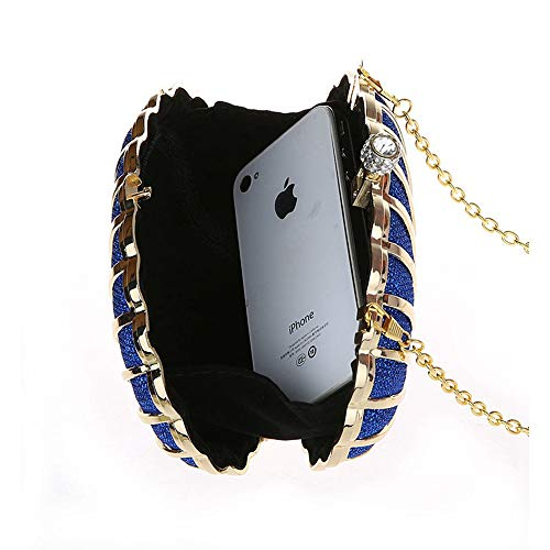 Lovely Shoulder Bag Casual Women Evening Rabbit Blue Fashion Clutch Shell Shape Bag Crossbody Bag Mini CC1xrv