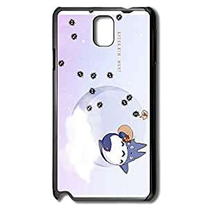 Neighbour Totoro Tonari No Totoro Fit Series Case Cover For Samsung Note 3 - Cover