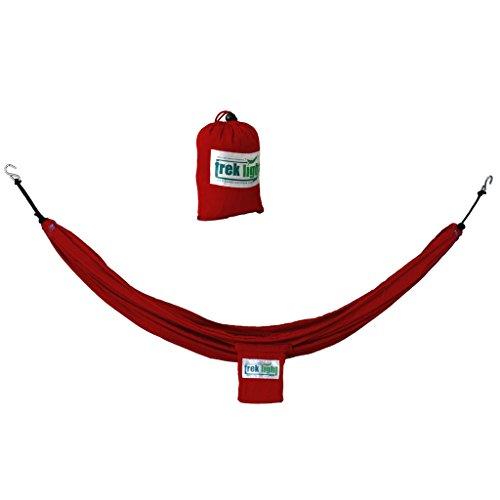 Trek Light Gear VersaTrek – Hammock Camping Gear Loft, Chair & Swing – Holds 400lbs! (Red) For Sale