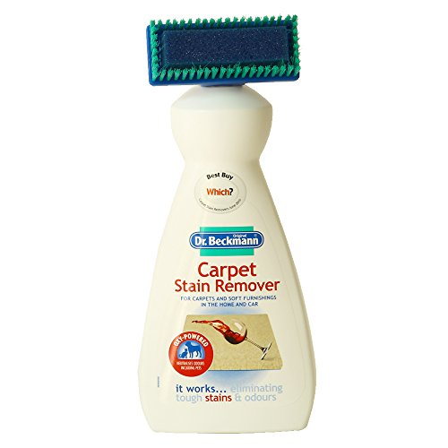 Dr Beckmann Carpet Stain Remover with Cleaning Applicator/Brush, White, 650 ml