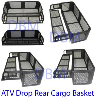 Universal Atv Rear Basket - 4