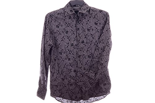 JC DEKKER Black CULTURA Long sleeve Casual (Punto Blanco Cotton T-shirt)