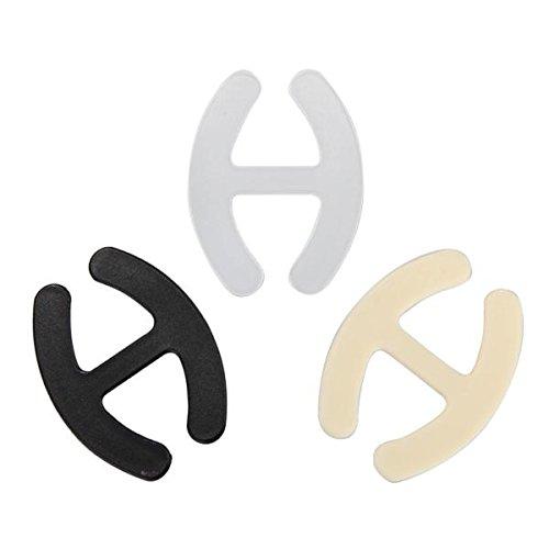 3X Clips para Tirantes de Sujetador Bra Straps Sujeta: Amazon.es: Salud y cuidado personal
