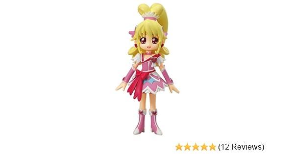 Precure Glitter Force Glitter Cure Heart Doll 5 inches Bandai Doki Doki