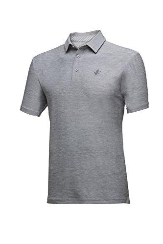 Jolt Gear Mens Dry Fit Golf Polo Shirt, Athletic Short-Sleeve Polo Golf Shirts (Moisture Body Today)