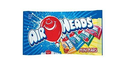 Van Airheads Melle (Airhead Assorted Chewier Mini Bars (Pack of 2) Value Size 12 oz Bags by Perfetti Van Melle)