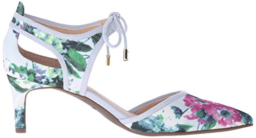 Blue Women's Floral Pump Darlis Sarto Franco Dress gXnwqFa1