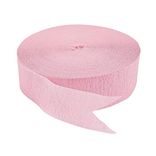 (Fun Express - Pink Jumbo Streamers for Party - Party Decor - Hanging Decor - Streamers - Party - 1 Piece)