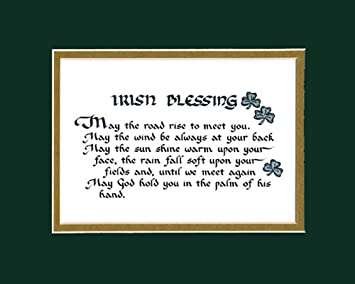 Irish Blessing Saying Home Decor Wall Sign