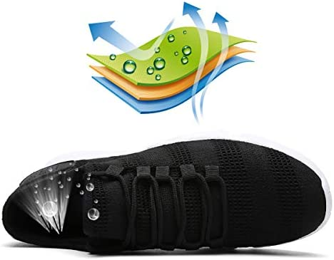 SHUX Hiking Shoes Outdoor Non-Slip Running Shoes mesh Walking Shoes sneakers-colour5-39