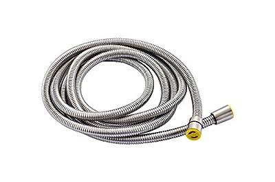Senlesen Extra Long Stainless Steel Handheld Shower Hose (9.8 Ft) (118 Inches) (3 Meters), Brushed Nickel