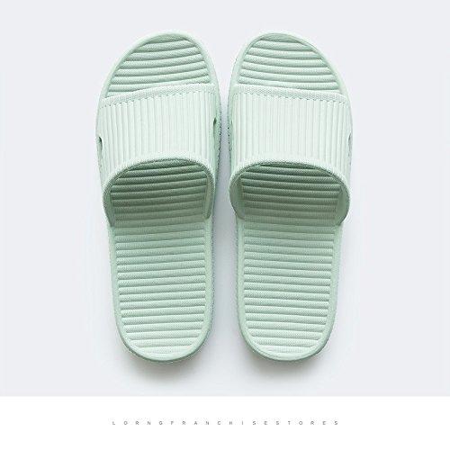 chiaro2 Verde da DogHaccd home plastica interni estate pantofole bagno morbida pantofole di bagno ciabatte antiscivolo femmina home maschio in stanze cool sono Le coppie SSBtgq