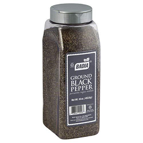 BADIA PEPPER BLACK GRND, 16 OZ