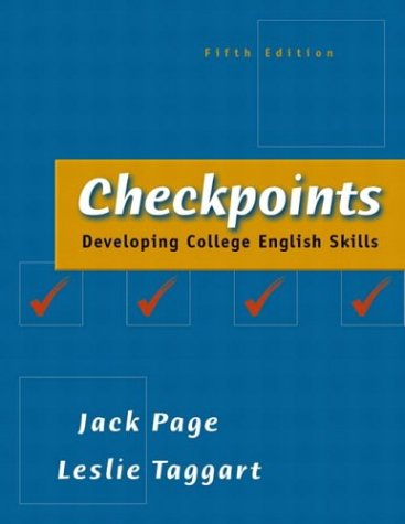Checkpoints: Developing College English Skills (5th Edition)