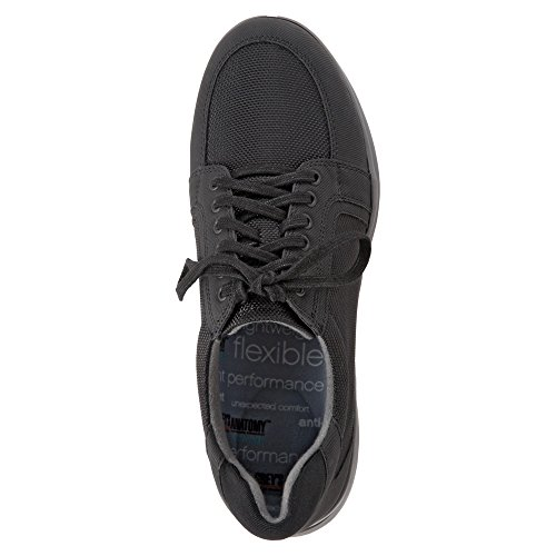 Softwalk Dames Vital Lace Up Zwart Ballistisch Nylon / Rubber