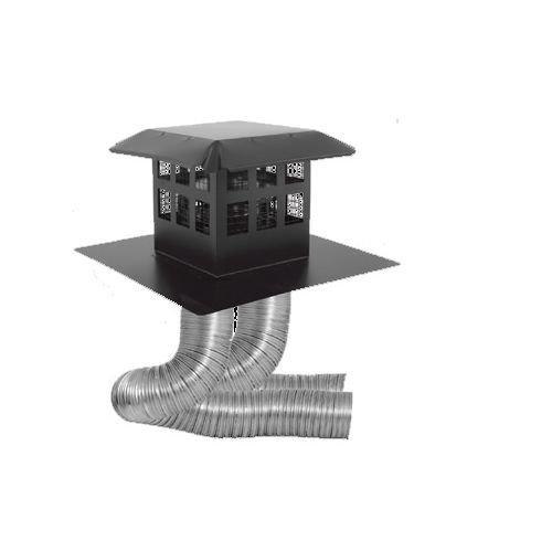 30' Direct Vent Gas Fireplace - DuraVent 46DVA-CL33P 4