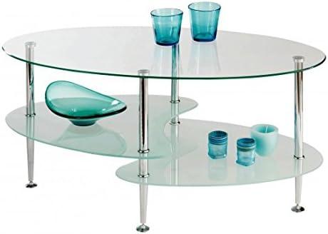Estense – Mesa Centro Cristal – Piano Cristal Templado Color ...
