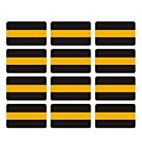 "Thin Gold Line Decal 2"" 12 Pac"