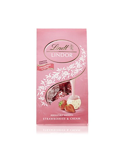Lindt Valentine Lindor Strawberries and Cream, 8.5 oz