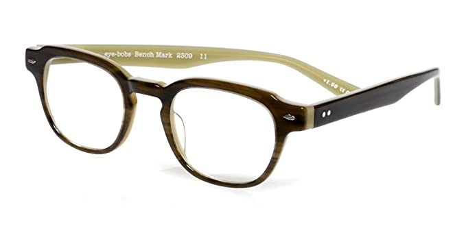 fbdb2da87b92 Image Unavailable. Image not available for. Color  Eyebobs  Bench Mark   2309 Designer Reading Glasses in Khaki Green ...