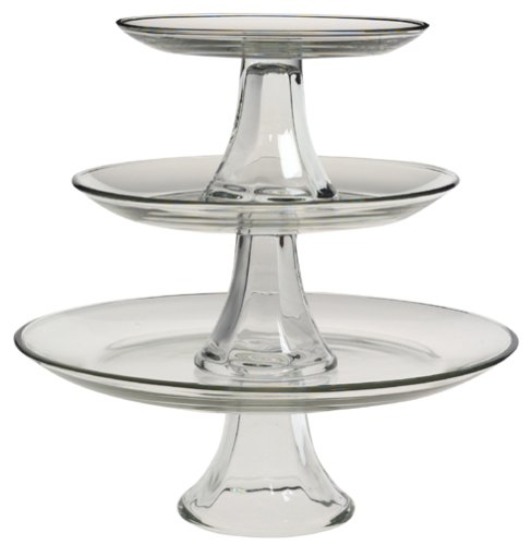 Anchor Hocking Presence 3-Tier Platter -