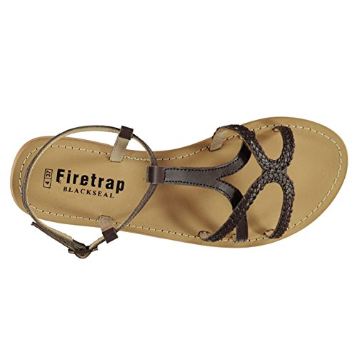 Choc Sandales Irisbraid Firetrap Leather Femme wqPttBH