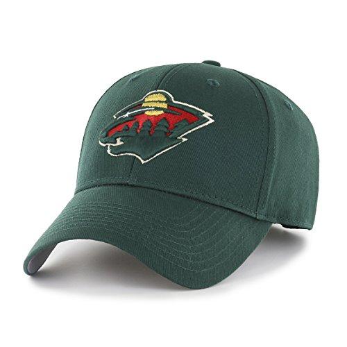 NHL Minnesota Wild OTS All-Star MVP Adjustable Hat, Dark Green, One Size