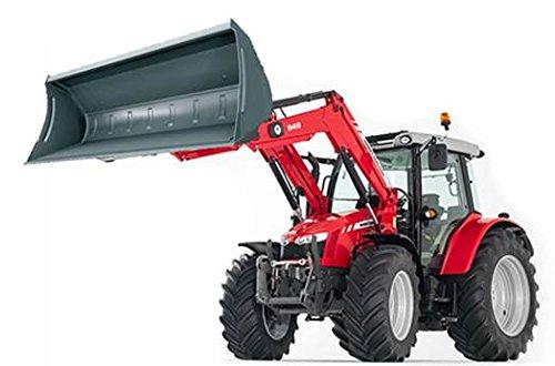 Britains 43082 - Massey Ferguson 6616 Traktor mit Frontlader (Modell 1:32)