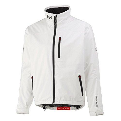 Helly-Hansen Mens Crew Midlayer Fleece Lined Waterproof Windproof Rain Jacket