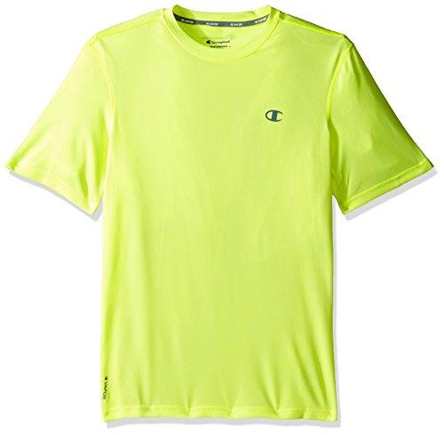 Champion Men's Vapor T-Shirt, Highlighter Yellow Heather, - Gear Yellow T-shirt