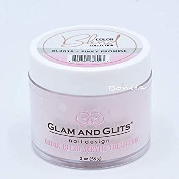 Health & Beauty Acrylic Powders & Liquids Glam And Glits Acrylic Powder Color Blend Collection Bl3019 Tickled Pink 2 Oz