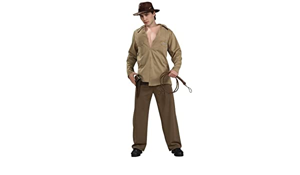 f244da85fba61 Indiana Jones Fancy Dress Costume - Adult Standard size to Chest 44