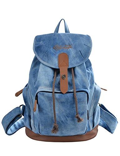 DGY la Mochila Bolsos de Mujer Bolsa de Viaje Mochilas Tipo Casual Mochilas escolares117 Azul