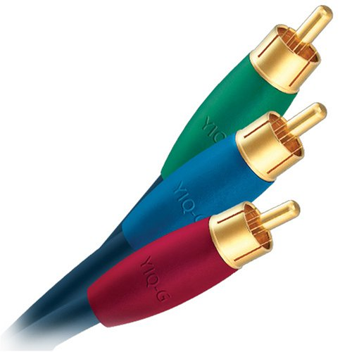 AudioQuest class G component video cable - RCA plugs 2m (6.56') 3-cable set (Composite Video 2 Interconnect Cable)