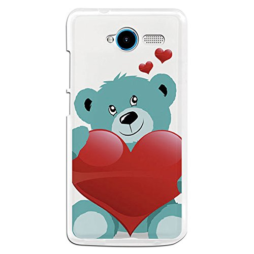 Funda Gel Flexible ZTE Blade L3 BeCool Baby on Board Osito amoroso Carcasa Case Silicona TPU Suave