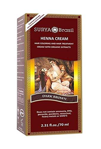 Surya Brasil Henna Dark Brown Cream - 2.37 Ounce from Surya Amazonia Preciosa