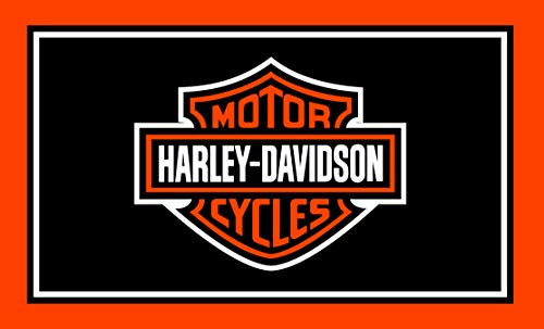 RongJ- store Harley-Davidson 3-Foot by 5-Foot Banner Champion Flag
