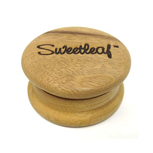 - Sweetleaf 2 Piece Wooden Herb Grinder Pocket Size 50mm