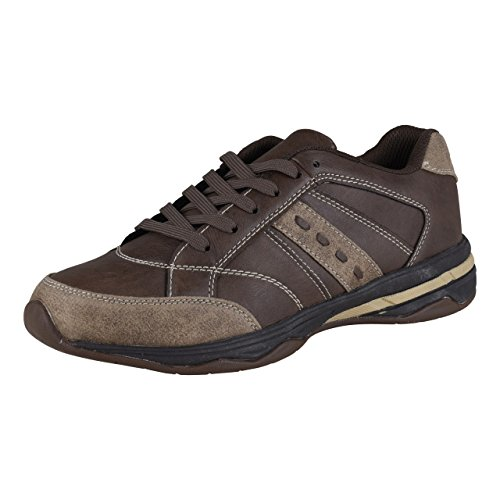 HSM Schuhmarketing - Zapatillas para deportes de exterior de Material Sintético para mujer marrón marrón marrón