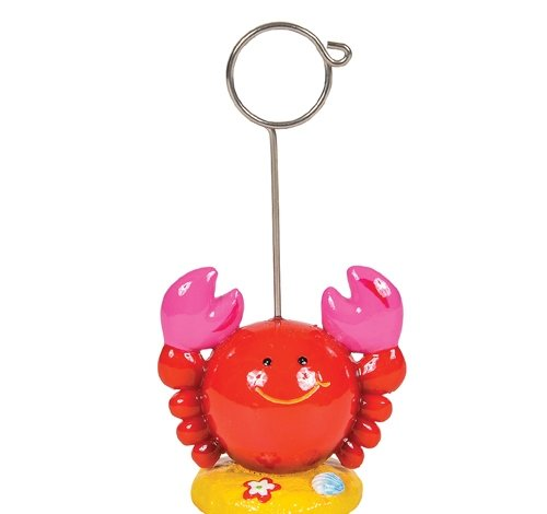 2'' RED BABY CRAB MEMO CLIP, Case of 96